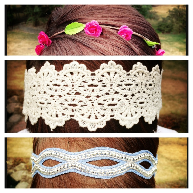 Easy accessories for pixie hair.